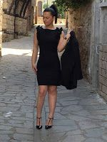 Black, Dresses, Style, Fashion, Gowns, Moda, Black People, Fashion Styles, All Black