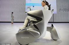 Toyota unveils 'sofa on wheels' - among dozens of other futuristic cars at Beijing motor show