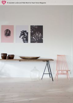 Jeanette Lunde and Hilde Mork for Heart Home