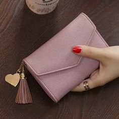 female purse on sale at reasonable prices, buy OTHERCHIC Women Fashion Short Wallets Envelope Tassel Wallet Coin Pocket Small Female Purses Money Clip Portefeuille from mobile site on Aliexpress Now! My Wallet, Purse Wallet, Clutch Bag, Coin Purse, Small Wallet, Purses For Sale, Purses And Bags, Cute Wallets, Cute Purses