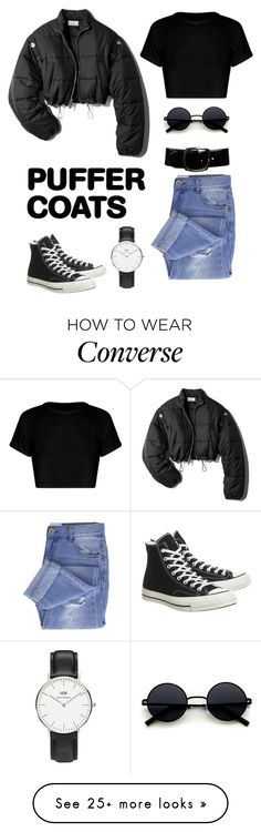 """Untitled #78"" by prttynyellow on Polyvore featuring 3.1 Phillip Lim, Taya, Converse, Chanel and Daniel Wellington"