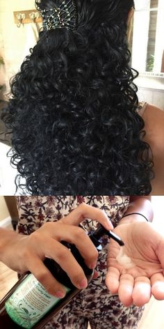 I've spent a small fortune on curly hair care products that made my hair gummy or greasy or just plain smelled bad. Now that I have your natural gel and styling lotion it's been so easy I can hardly believe it!
