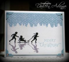 CAS145~TLC352 Welcome Christmas by darleenstamps - Cards and Paper Crafts at Splitcoaststampers