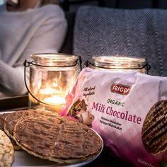Friggs ekologiska, glutenfria majskakor är magiska! Håller ni inte med om det? 🙌🏼😋 #friggs #majskakor #ekologiskt #choklad #testagram