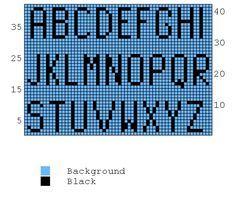Knitting Charts Alphabet Perler Beads 52 Ideas For 2019 Crochet Alphabet, Alphabet Charts, Cross Stitch Alphabet, Knitting Charts, Loom Knitting, Knitting Patterns, Knitting Projects, Hand Knitting, Intarsia Knitting