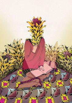 illustration by ALICA GURINOVA, illustrator represented by Owl Illustration Agency Owl Illustration, Animation Film, Illustrators, Creative, Artist, Illustrations, Artists