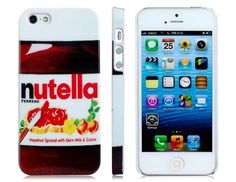 Nutella iPhone 5 Hard Protective Case Cover