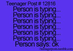 YES! SO TRUE!! teenager post