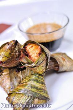 Pandan Leaf chicken (Moo Hor Bai Toey) - FoodTravel.tv Recipe