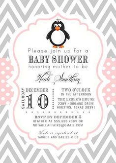 about penguin baby showers on pinterest penguin party baby shower