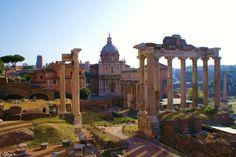 Tempio Di Saturno -Roma- (Lazio)