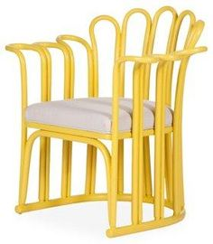 Yellow Accent Chairs, Yellow Accents, Luxury Chairs, Yellow Interior, Mellow Yellow, Bright Yellow, How To Clean Furniture, Barrel Chair, Swinging Chair