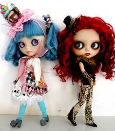 """Kenner (and later, Hasbro) """"Blythe"""" dolls"""