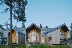 About three hours northwest of Stockholm, Villa Sunnanö is a Scandinavian escape that frames a waterfront tableau.