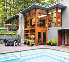 "Cullens House From Twilight twilight:"" the cullen family's contemporary house 