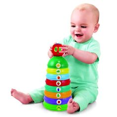 Amazon.com : World of Eric Carle, The Very Hungry Caterpillar Stacking/Nesting/Chime Ball Toy by Kids Preferred : Baby
