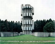 Mysterious Monuments in former Yugoslavia : Photographed by Jan Kempenaers