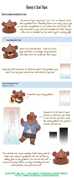 Doxy's Sai and Photoshop Tips 2 by mldoxy.deviantart.com on @DeviantArt