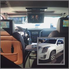 Not many things this brand new 2016 Cadillac Escalades doesn't have fresh off the lot, but adding a couple extra DVD headrest monitors can't hurt! With the ability to play individual movies, or the same on each screen, this Escalade now has everything it needs.#Cadillac #Escalade #Advent #Caddy #luxury #SUV #CadillacEscalade #Entertainment #style #photooftheday #audioexpressRVA #rva #804 #caraudio #richmond #audioexpress #instagood #radio #likes  Interested in a remote car starter ..