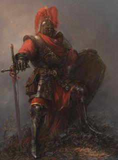 "wearepaladin: ""Knight by Yaroslav Radeckiy """