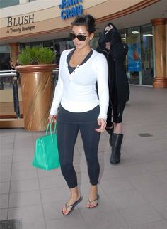 At the gym in Sherman Oaks June 4, 2012