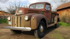 Canadian Tonner: 1947 Ford One-Ton Truck - http://barnfinds.com/canadian-tonner-1947-ford-one-ton-truck/