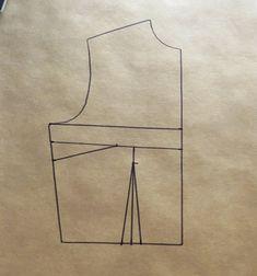 """Cómo hacer el patrón de """"mono"""" o """"enterizo"""" Pattern Illustration, Jumpsuit, Sewing, Diy, Fresco, Fashion, Sewing Tips, Templates, Ideas"""