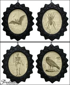 halloween gallery wall decor hallowen walljpg  ideas about halloween frames on pinterest halloween picture frames halloween and halloween photo frames