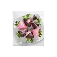 Chocolate Covered Love Strawberries ❤ liked on Polyvore featuring backgrounds