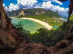 The ultimate guide for the best things to do in Ao Nang, Krabi. A list of where to do the top activities such as rock-climbing, island hopping and hiking. Thailand Vacation, Krabi Thailand, Pattaya Thailand, Thailand Travel, Ao Nang Krabi, Stuff To Do, Things To Do, Rock Climbing, Khao Lak