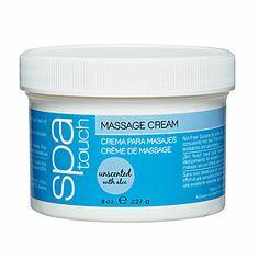 Spa Touch Unscented Massage Cream