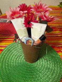 One of my Mary Kay Mothers Day Baskets.. www.marykay.com/dwhitten69  Would love to be your Mary Kay lady.. Free Shipping..