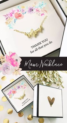 Mom Necklace Gifts for Mom Birthday Gift For Mom Christmas Gift for Mom Gifts from Daughter Mom Jewe