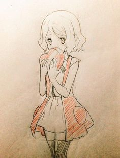 #Dessin #SaintValentin par piccapuu au #CrayonDeCouleur #Manga