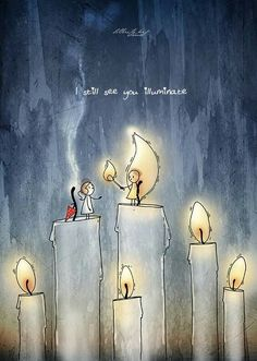 ' Because I still see you illuminate'. A gentle reminder for those who forgot to illuminate for so long. Couple Illustration, Illustration Art, Painting Love Couple, Imagination Art, Graffiti, Cute Couple Cartoon, Love Images, Cartoon Wallpaper, Illustrations