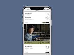 Concept Website Design iPhone X by BBB Studio