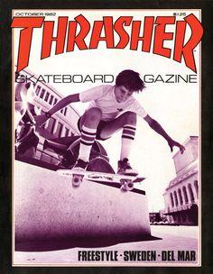 Thrasher Cover #21 October 1982