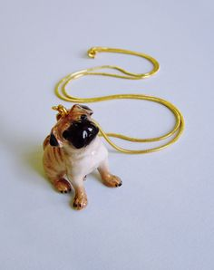 All Creatures Great & Small - Pug Necklace by Eclectic Eccentricity