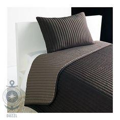Ikea-karit-dias-manta-funda-de-almohada-en-marron-180x280cm-40x65cm-ropa-de-cama