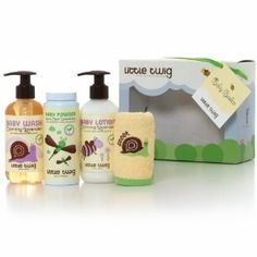 Little Twig Baby Basics Gift Set #baby #gift