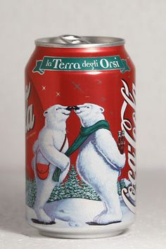 1999 Coca-Cola Italy Christmas Polar Bears 3