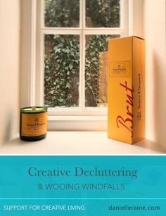 The post Creative decluttering for wooing windfalls appeared first on Danielle Raine Life Design, Blog Design, Happiness Study, Coaching Questions, Veuve, Creativity Quotes, Positive Psychology, Simple Pleasures, Cool Gifts