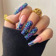 Bling Acrylic Nails, Glam Nails, Best Acrylic Nails, Nail Design Stiletto, Nail Design Glitter, Nails Gelish, Natural Nail Designs, Luxury Nails, Fire Nails