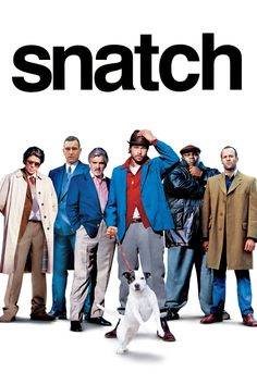 Snatch. One of my favorite movies ♡  ohhh that Brad Pitt is such a looker.