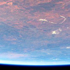 Западная Австралия с борта МКС