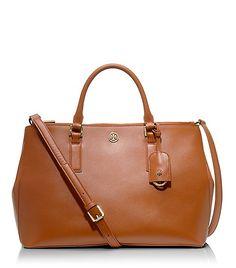 robinson, tory burch, tote, tan, cognac, handbag