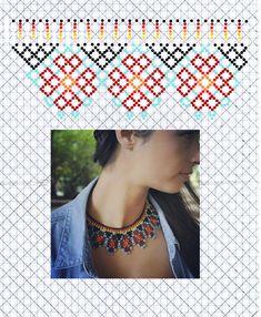 Diy Necklace Patterns, Bead Loom Patterns, Beaded Jewelry Patterns, Beading Patterns, Beading Techniques, Beading Tutorials, Seed Bead Jewelry, Bead Jewellery, Beaded Collar