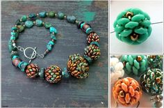 Matubo Small Bead Necklace Superduo Beads Jewelry Making Beaded Necklace