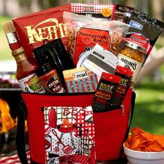 Set your favorite griller up this barbecue season with a gift set featuring Classic BBQ Sauce, barbecue kettle chips, beer cheese dip, flammin hot smokey beef steak jerky and other gourmet goodies. They'll be ready to roll on the grill right now and straight on through the summer! The The... more details available at https://perfect-gifts.bestselleroutlets.com/gifts-for-holidays/grocery-gourmet-food/product-review-for-the-master-griller-bbq-gift-chest-great-gift-for-chri