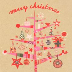 Paperchase xmas card